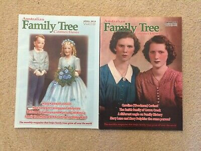 Australian Family Tree Connections magazine - April, May 2014