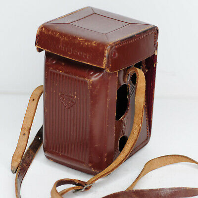 Rolleicord TLR Va & Vb Brown Ever-ready Leather Case - Stitching Undone (3127BL)