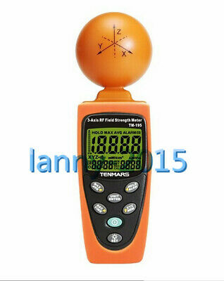 1PC Tenmars TM-195 Digital 3-AXIS EMF RF Radiation Tester
