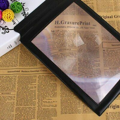 Magnifier Sheet Magnifying A4 Size Reading Aid Large Flat Page PREMIUM Quality