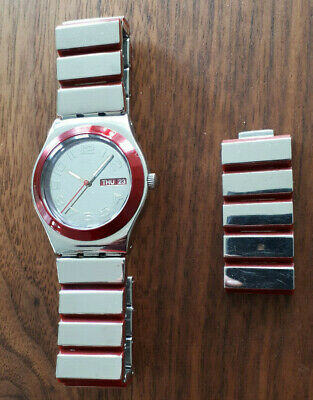 Swatch Irony Medium RED VIBRATION (YLS707G)