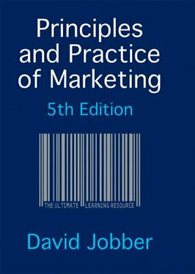 Principles and Practice of Marketing with Redemption card By David Jobber