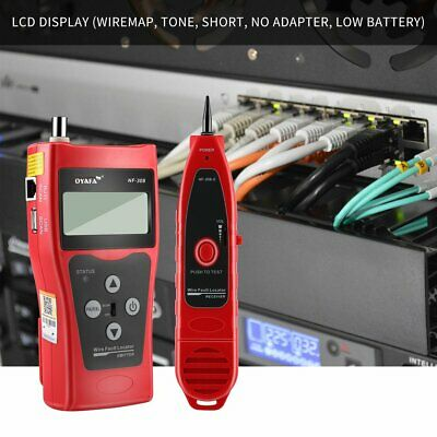 Noyafa NF-308 Multipurpose LCD Display Network Cable Tester Line Finder