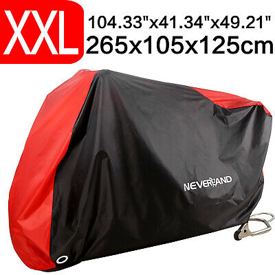 XXL Motorcycle Waterproof Outdoor Scooter Motorbike Bike Cover + Bag Breathable