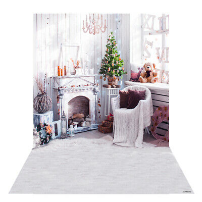 Andoer 1.5 * 2m Photography Background Backdrop Digital Printing Christmas H5T6