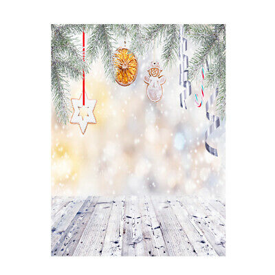 Andoer 1.5 * 2m Photography Background Backdrop Digital Printing Christmas H7V7