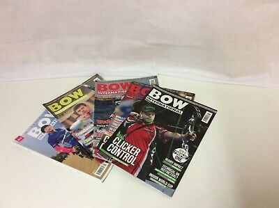 BOW international Archery Magazines - Issues 83,84,95,98,101