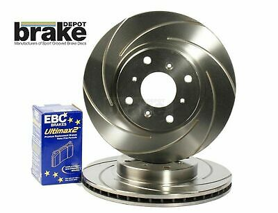 Suzuki Swift 1.6 Sport Front Performance Brake Discs and EBC Ultimax Pads