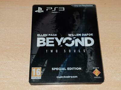 Beyond Two Souls Steelbook Special Edition PS3 Playstation 3 **FREE UK POSTAGE**