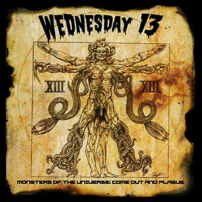 Wednesday 13 Monsters Of The Universe Come Out and Plague CD ALBUM NEW 13TH JUNE