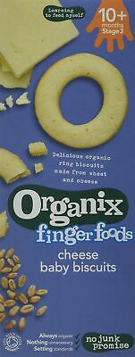 Organix Cheese Baby Biscuits - Stage 2 50g (Pack of 5)