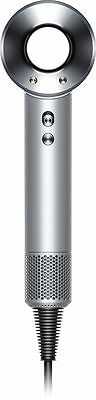 NEW Dyson Supersonic Hair Dryer in White/Silver- FREE FAST SHIPPING
