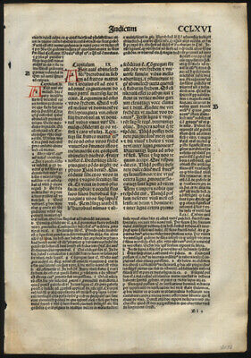 15th to 19th Cen Leaf Lot of 30 Leaves Variety of Subjects 2 Incunable Leaves
