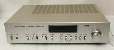 Akai AM-U33 Integrated Amplifier. Nice amp. Tested and in full working order.