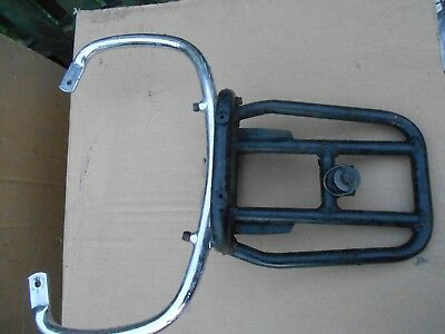 piaggio lx125 lxv lx50 rear rack carrier lx50 lx 125 vgc
