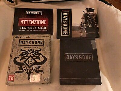 Days Gone - Limited Special Edition Ps4 Italiano
