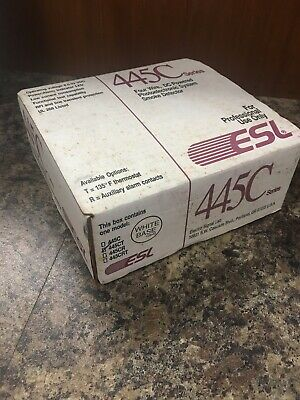 ESL 445CT Photoelectronic Smoke Detector 445C Series - New in Box. Made in USA