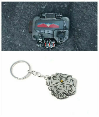 US SHIP Captain Marvel Cosplay Beep Pager Beeper The Avengers Costume  keychain