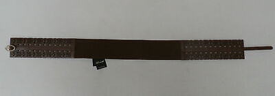 White House Black Market Women's Stretch Belt Brown Size Small NWT $54