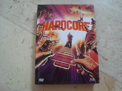 HARDCORE HENRY BluRay +CD *rare* 3 Disc DIGIBOOK 50 page book comic Tim Roth DVD