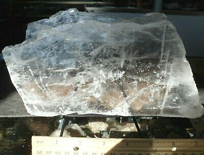 Selenite Plate#9-Crystals-Charging-New Age-Reiki