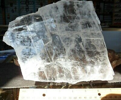 Selenite Plate#10-Crystals-Charging-New Age-Reiki