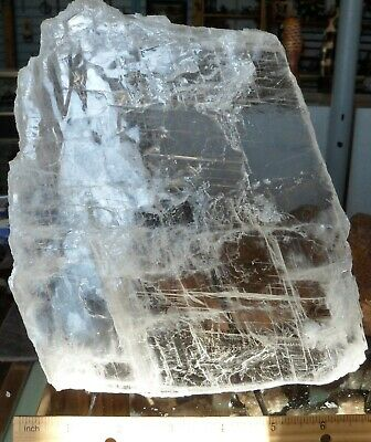 Selenite Plate#12-Crystals-Charging-New Age-Reiki