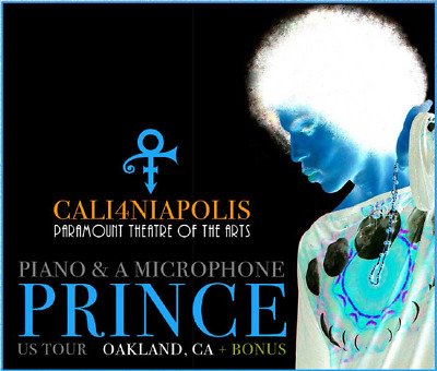 Prince Cali4niapolis 3CD Piano & Microphone Tour Oakland 2016 Limited Edition