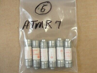 New, Gould Shawmut Fuse ATMR7, (LOT OF 6)