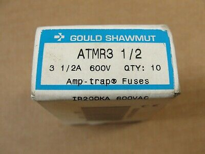 New, Gould Shawmut Fuse ATMR 3 1/2, (BOX OF 10)