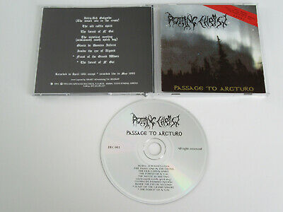 ROTTING CHRIST Passage to Arcturo CD 1991 RARE ORIGINAL 1st PRESS DECAPITATED!!!