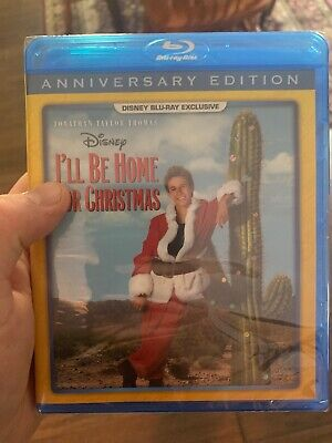 I'LL BE HOME FOR CHRISTMAS (Blu Ray Disc) Disney Movie Club Exclusive BRAND NEW