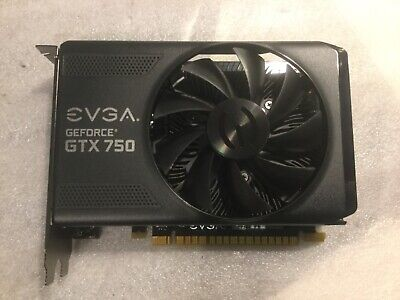 EVGA GEFORCE GTX 750 Graphics Card 01G-P4-2751-Kr, Tested