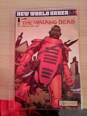 THE WALKING DEAD #177A (WK10)the comic is bagged and in pristine condition