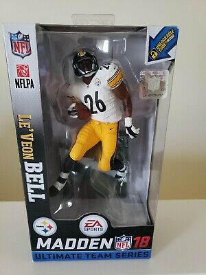58b3fb5f4d3 McFarlane NFL Madden 18 Series 2 LeVeon Le Veon Bell Steelers NEW in ...
