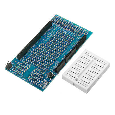 5Pcs Mega2560 1280 Protoshield V3 Expansion Board with Breadboard for Arduino