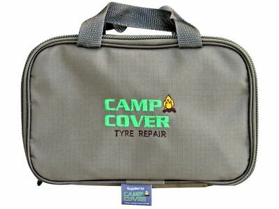 Camp Cover Tyre Repair Equipment Bag - Khaki Ripstop - CCM012-A