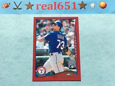 2014 Topps Update Red Border #US-276 ROUGNED ODOR Rookie   Rangers Target SP RC