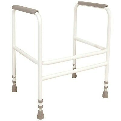 NRS Healthcare Toilet Frame M00869 - Height Adjustable (Eligible for VAT Reli...