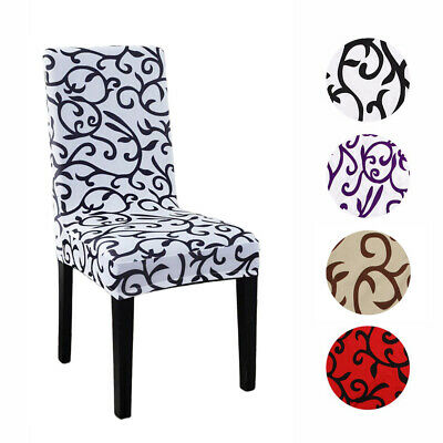 Stretch Chair Cover For Kitchen Dining Bar Hotel Slipcover Decoration Seat Cover