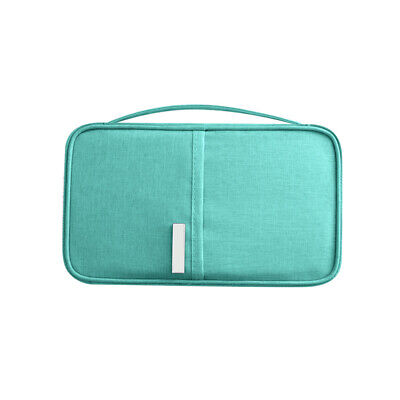 Travel Wallet Family Passport Holder Waterproof ID Card Document Case Bag New
