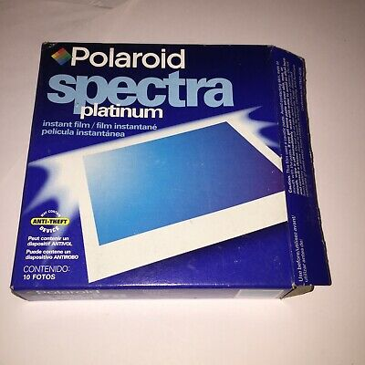 Polaroid Spectra Instant Film open Box Exp. 09/2001 BAG sealed