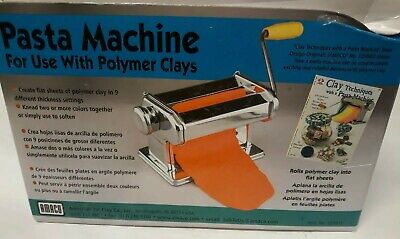 AMACO PASTA MACHINE For Use With Soft Metal Sheets And Polymer Clay. # 123815
