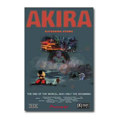 Akira Red Fighting Movie Art Silk Canvas Poster Wall Home Decor Print 20x30 inch