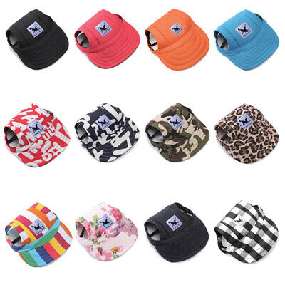 Pet Dog Hat Baseball Cap Windproof Sports Travel Sun Hats for Puppy Large Dogs