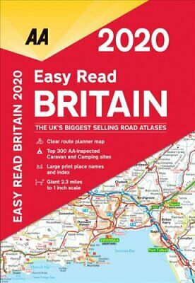 AA Easy Read Britain 2020 9780749581312   Brand New   Free UK Shipping