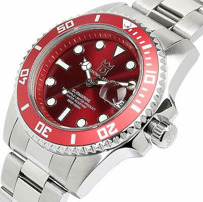 New HYAKUICHI 101 diver's watch 20ATM Water resistant Red Japan Kyoto Brand
