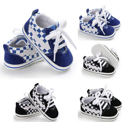 Baby Kids Girl Boy Soft Sole Crib Shoes Toddler Sneakers Canvas Shoes Anti-slip