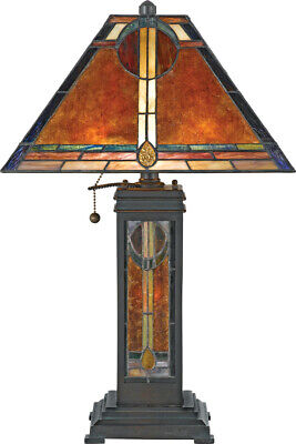 Quoizel Museum of New Mexico 2-Light Table Lamp, in Bronze