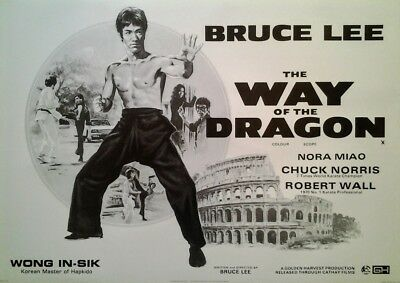Bruce Lee: The Way of the Dragon (1972) | US Import Filmplakat Poster